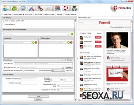PinRanker Pro v4.6 - продвижение товаров в соцсети PInterest